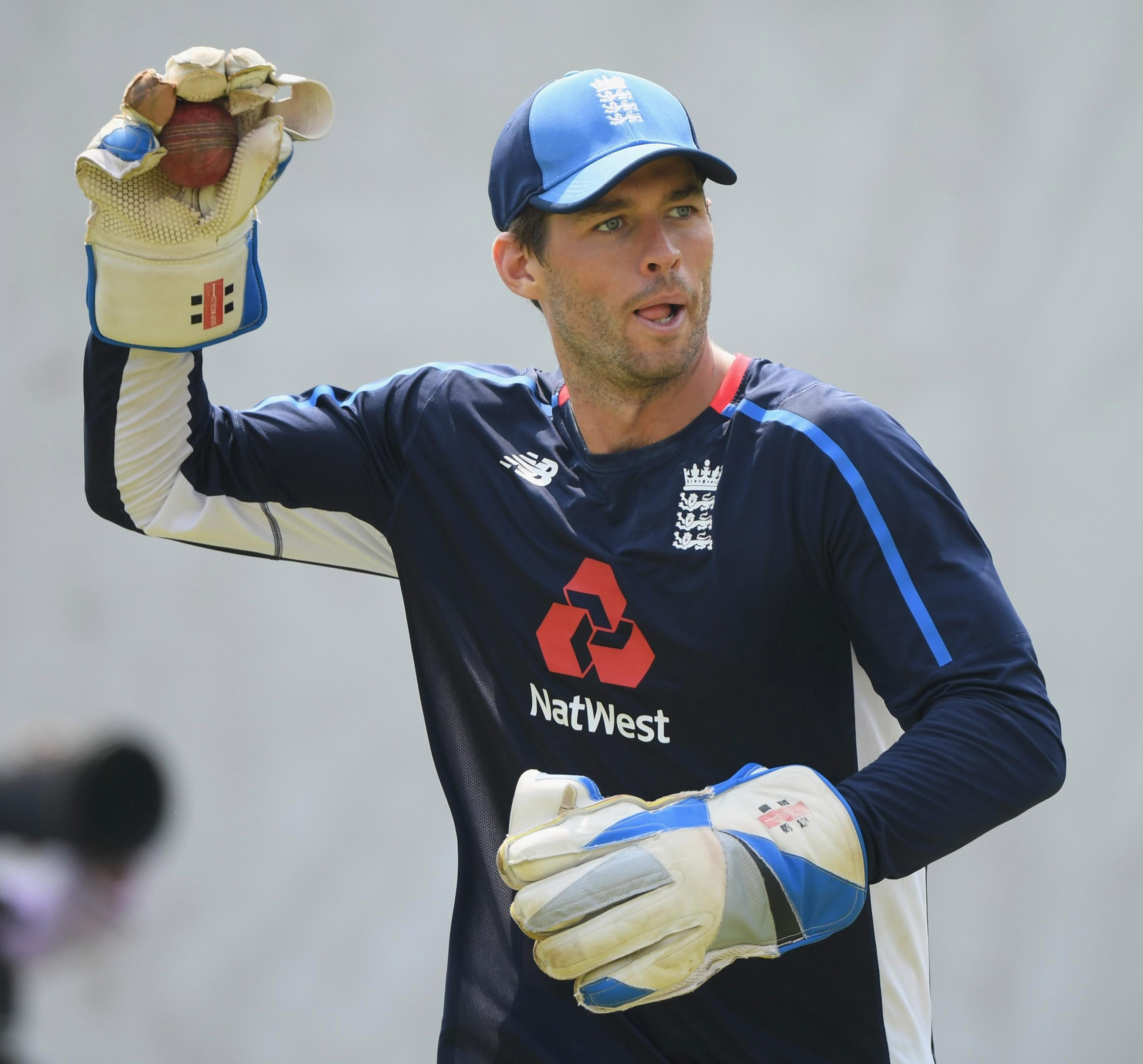Ben Foakes will be in action for England