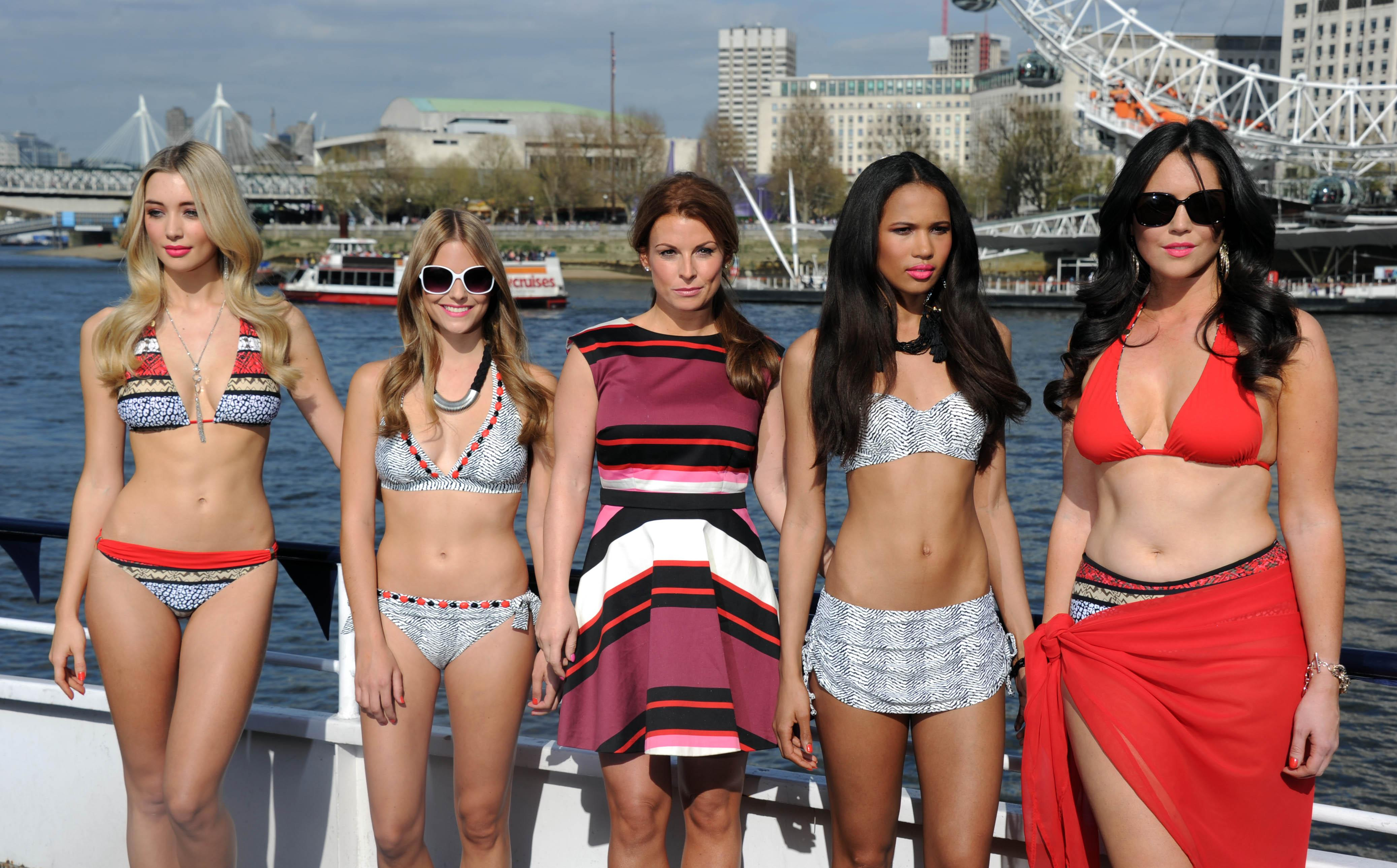 Coleen also launched her own swimwear line