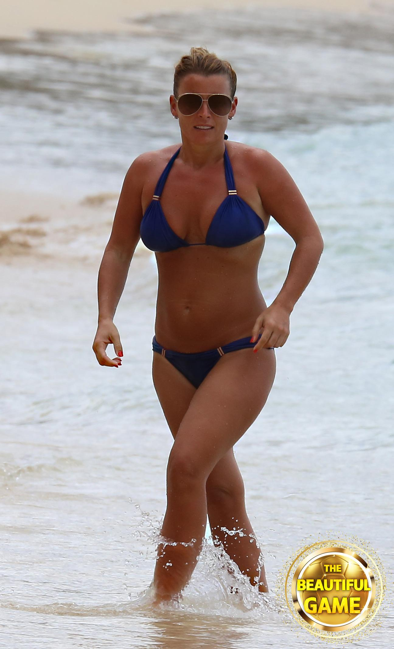 Coleen Rooney will also be bidding farewell at Wembley on Thursday