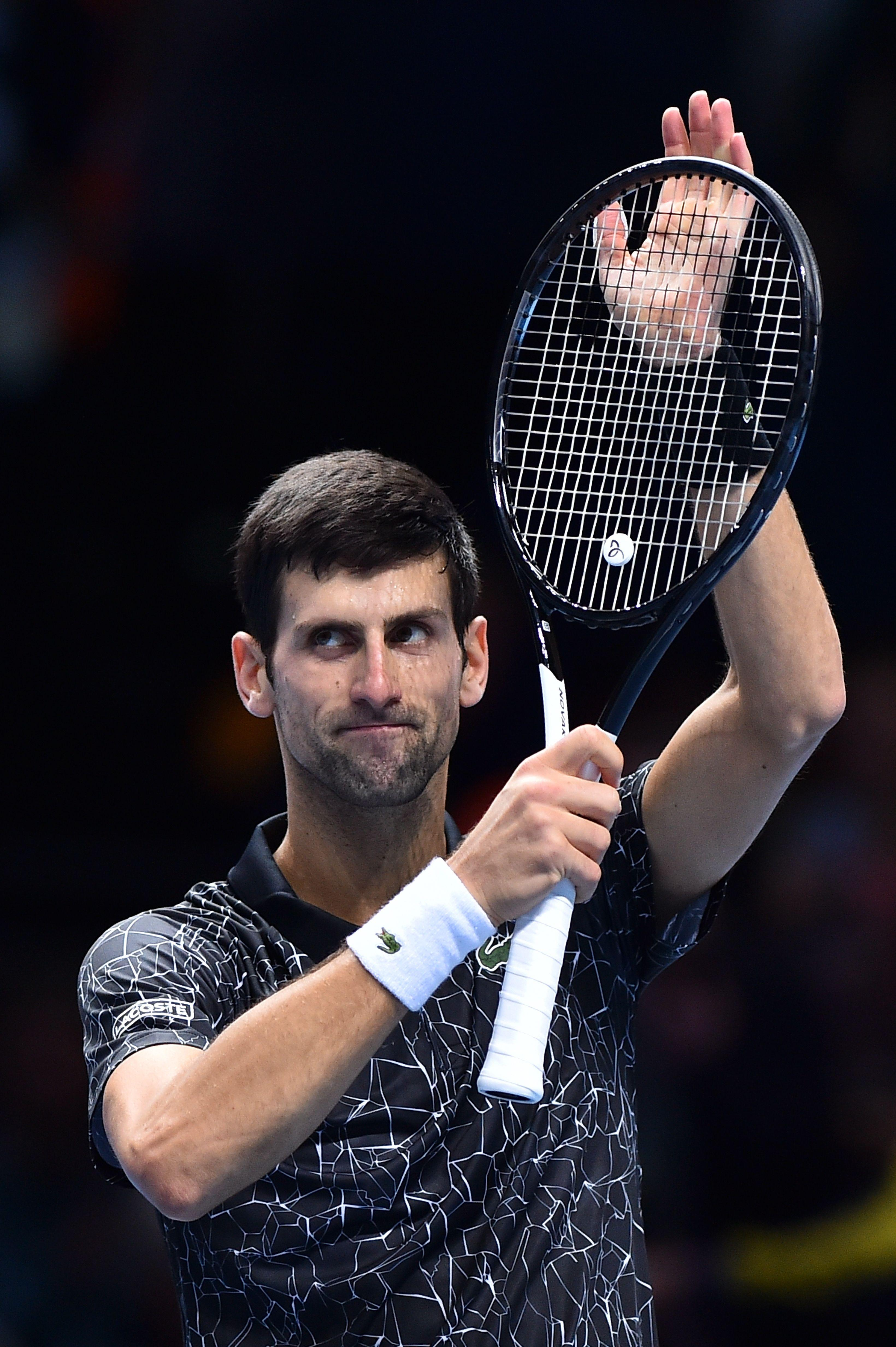 Novak Djokovic edged closer to the semi-finals with an impressive win over the German