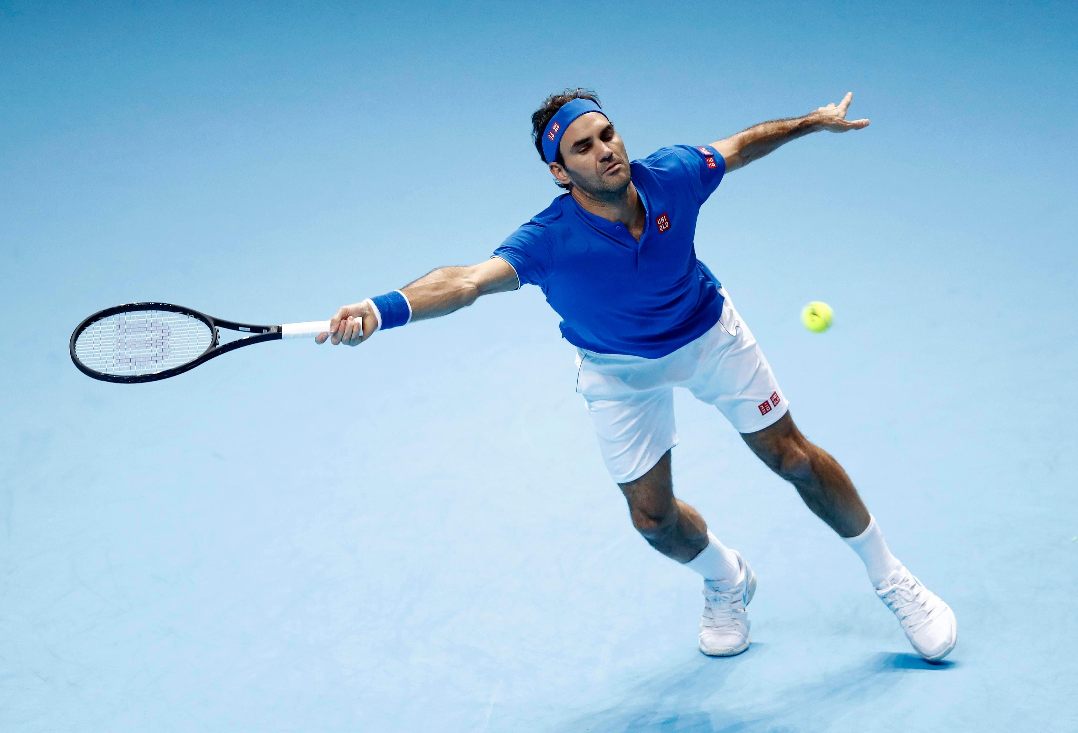Federer finished the match with a positive 18-14 ratio, forcing Anderson to 24 unforced errors