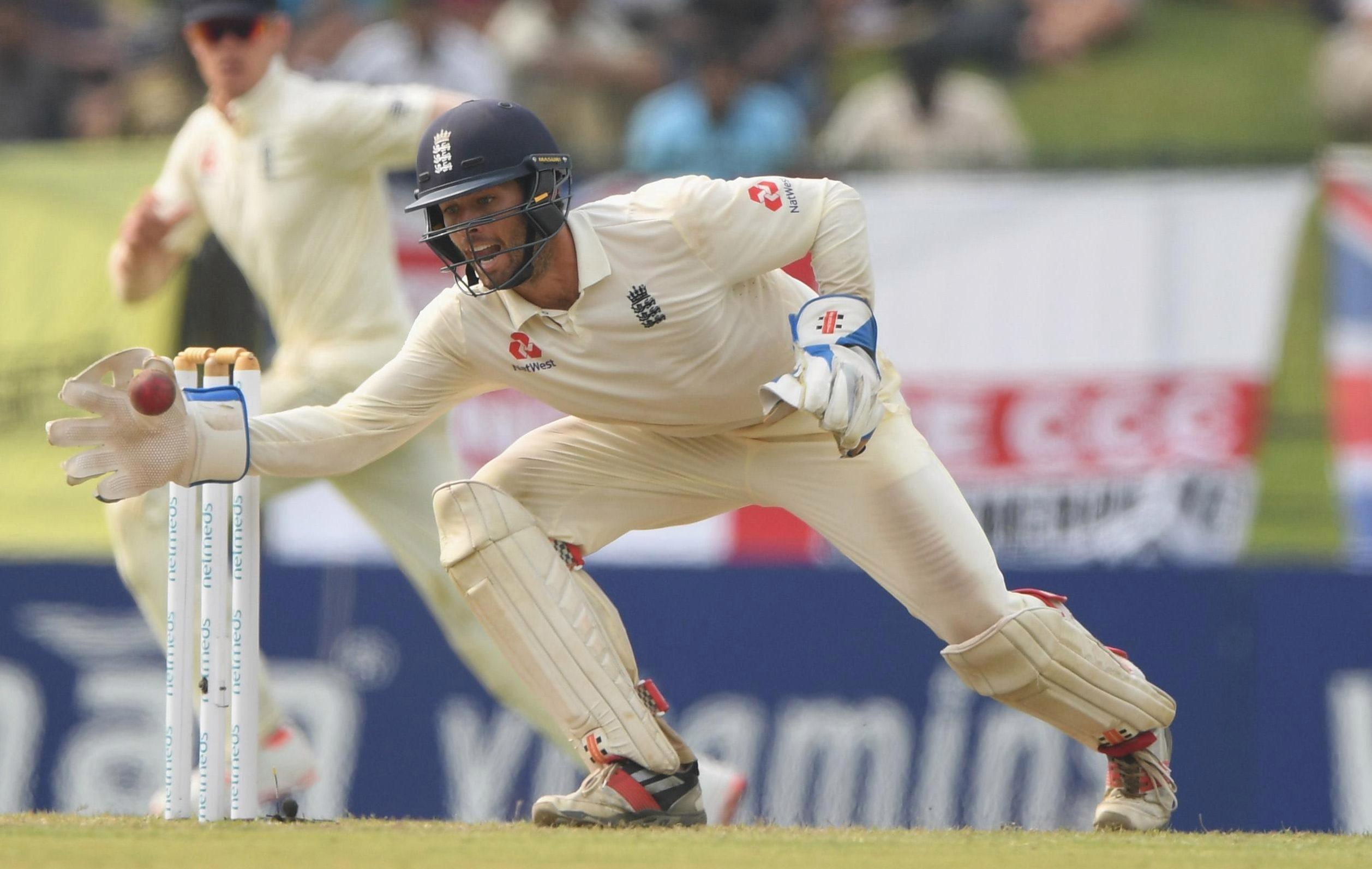 England wicketkeeper Ben Foakes will