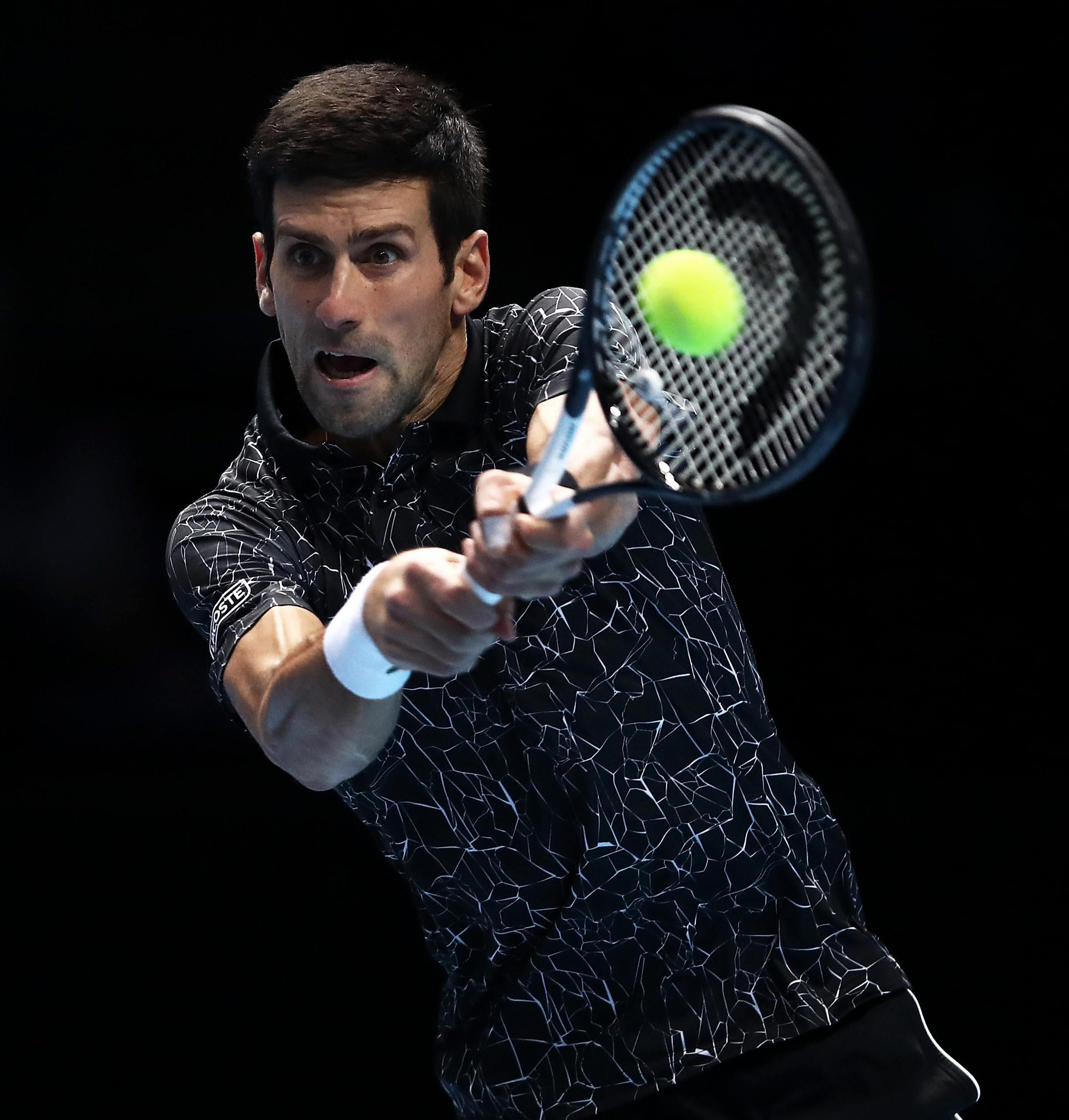 Novak Djokovic defeated Kevin Anderson at the O2