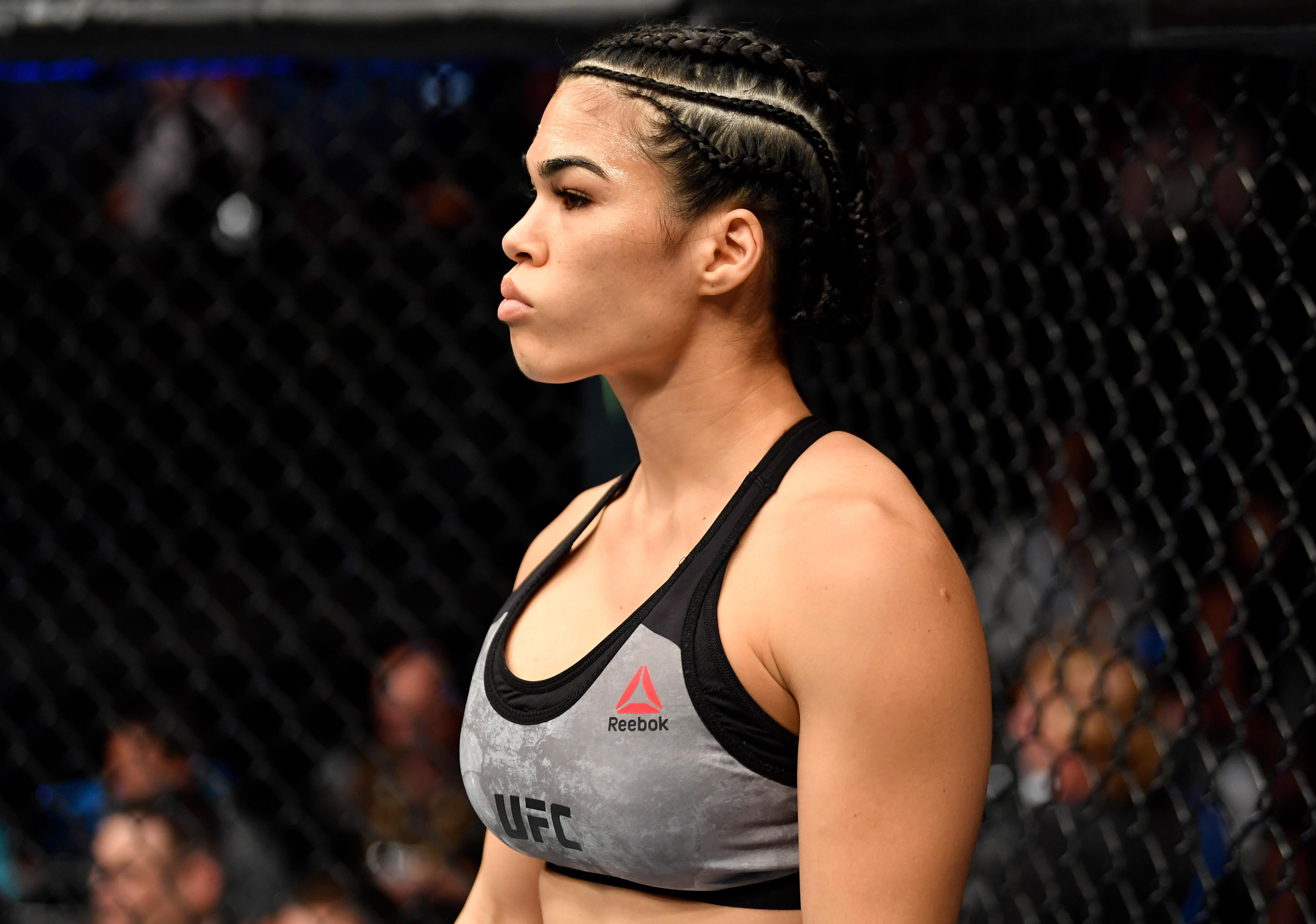 Rachael Ostovich was due to fight on January 19 at the Barclay's Center in Brooklyn