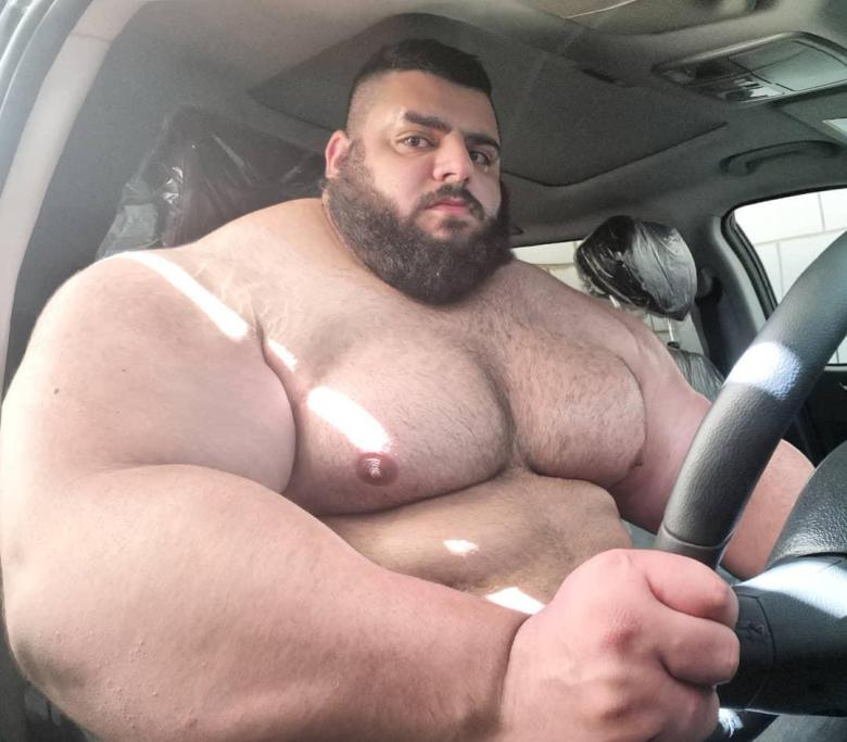 Image result for 'Iranian Hulk' set to join Bare Knuckle Fighting Championship and will make debut early next year