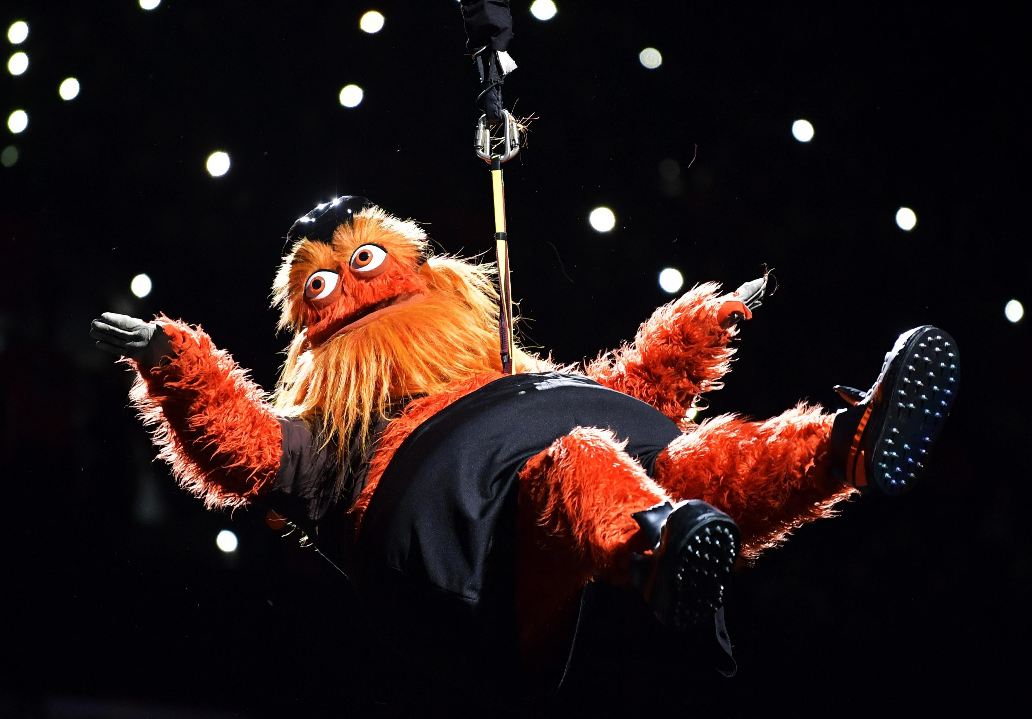 Gritty has become a media sensation in the US because of his nightmarish looks