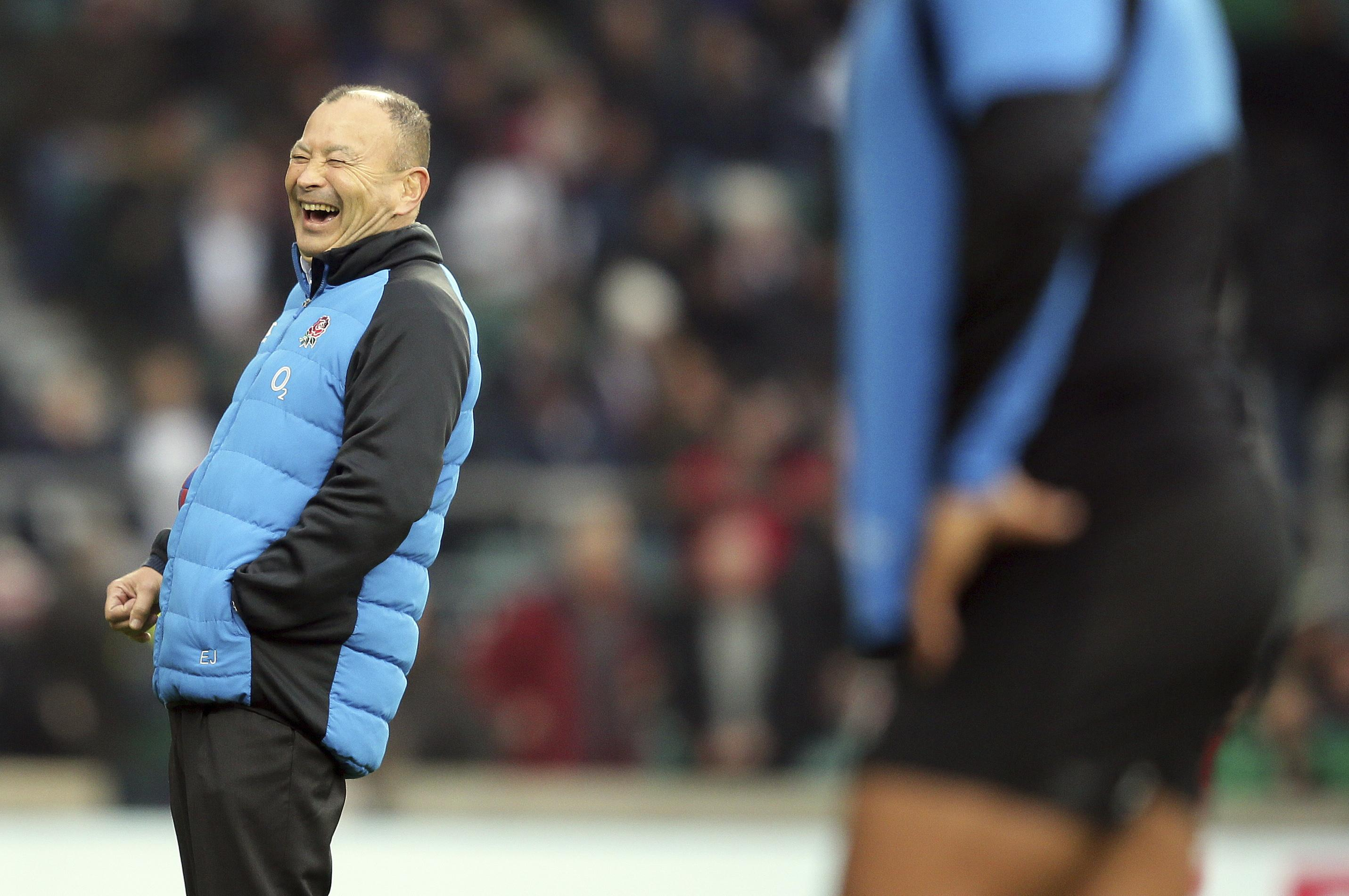 Eddie Jones was close to the sack just eight months ago after England lost their series in South Africa
