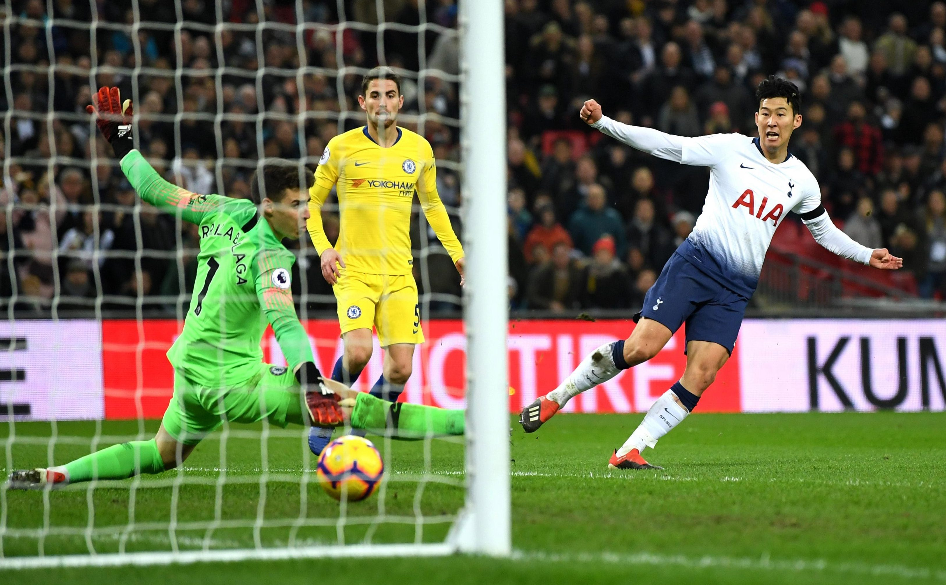 Son Heung-min scored a brilliant solo goal to secure the win over rivals Chelsea