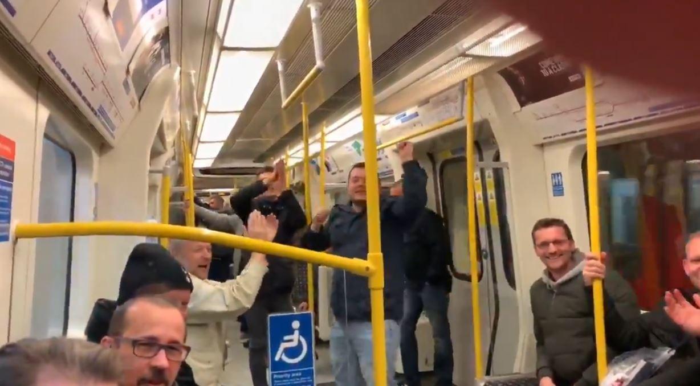 Tottenham fans sang Mido's name on the tube after Tottenham beat Chelsea last night