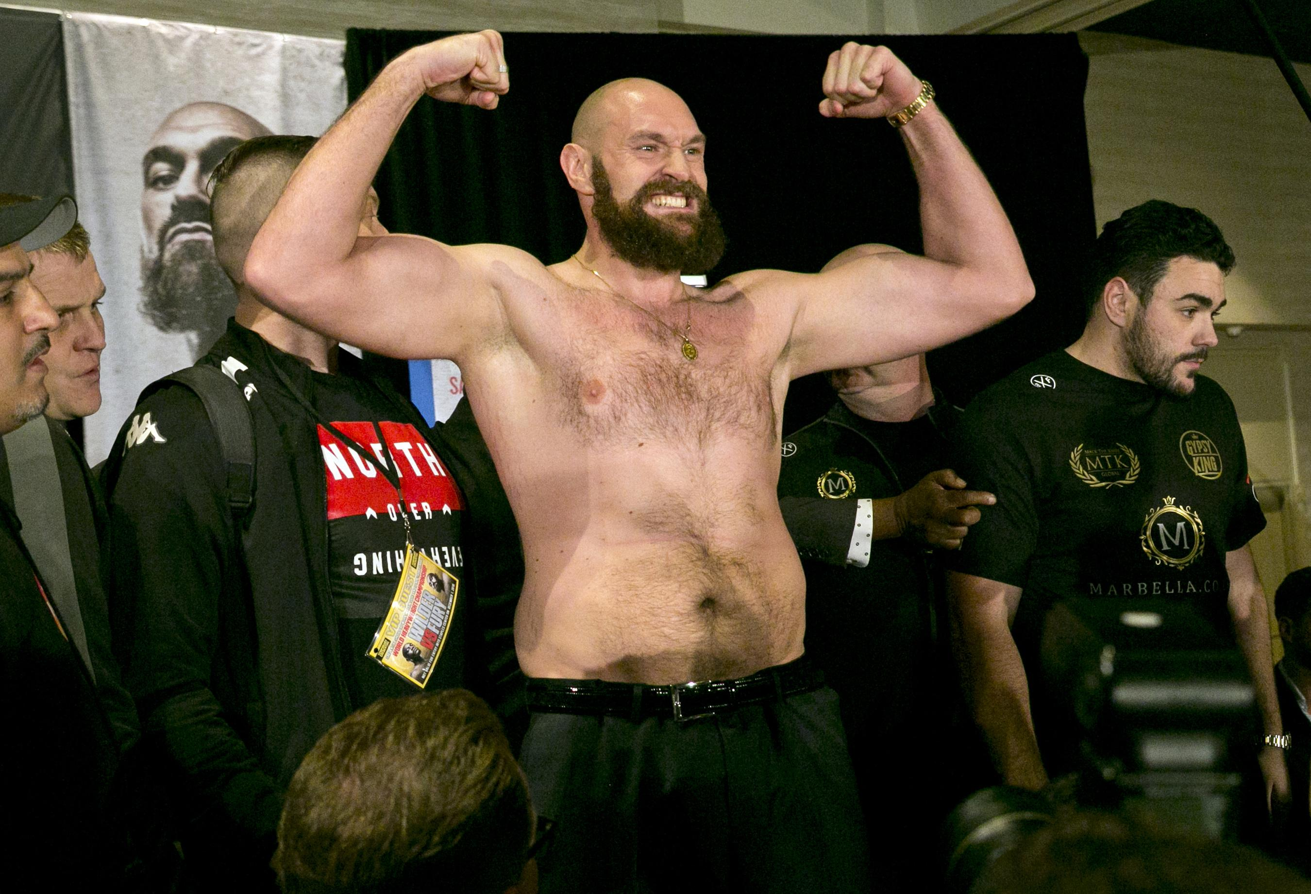 Tyson Fury has incredibly lost TEN STONE for his big shot at the WBC heavyweight king