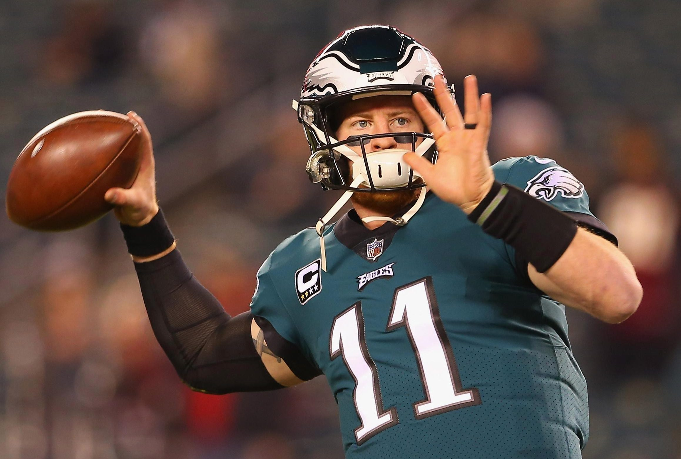 Carson Wentz is back to his best after he missed the Super Bowl last season