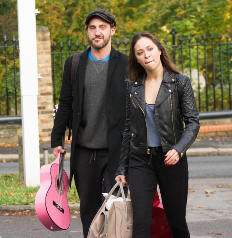 Seann Walsh and Katya Jones