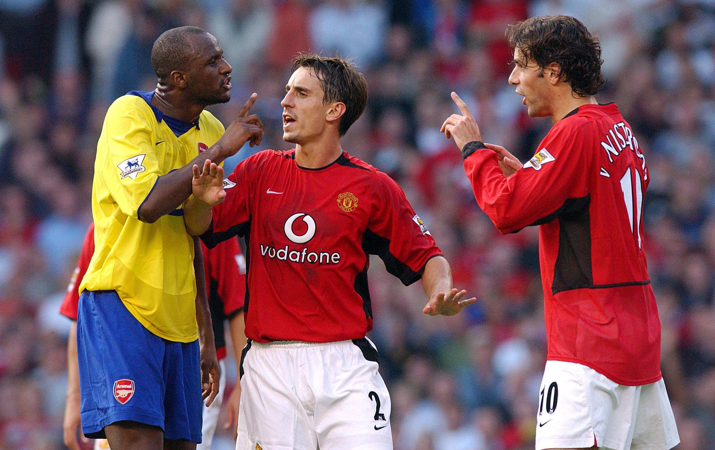 'Battle of Old Trafford' took place in September 2003