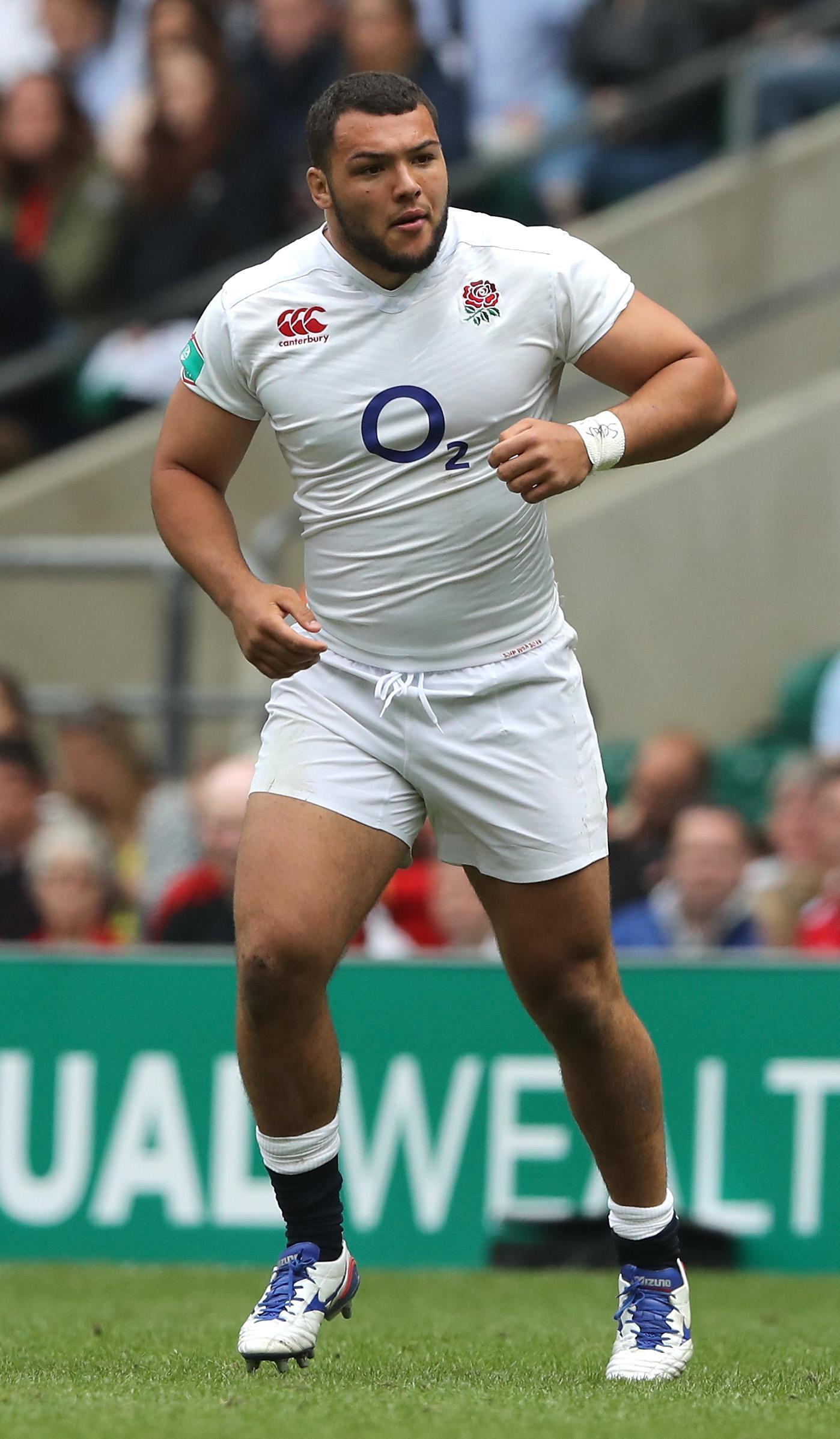 Ellis Genge has represented England 5 times at prop