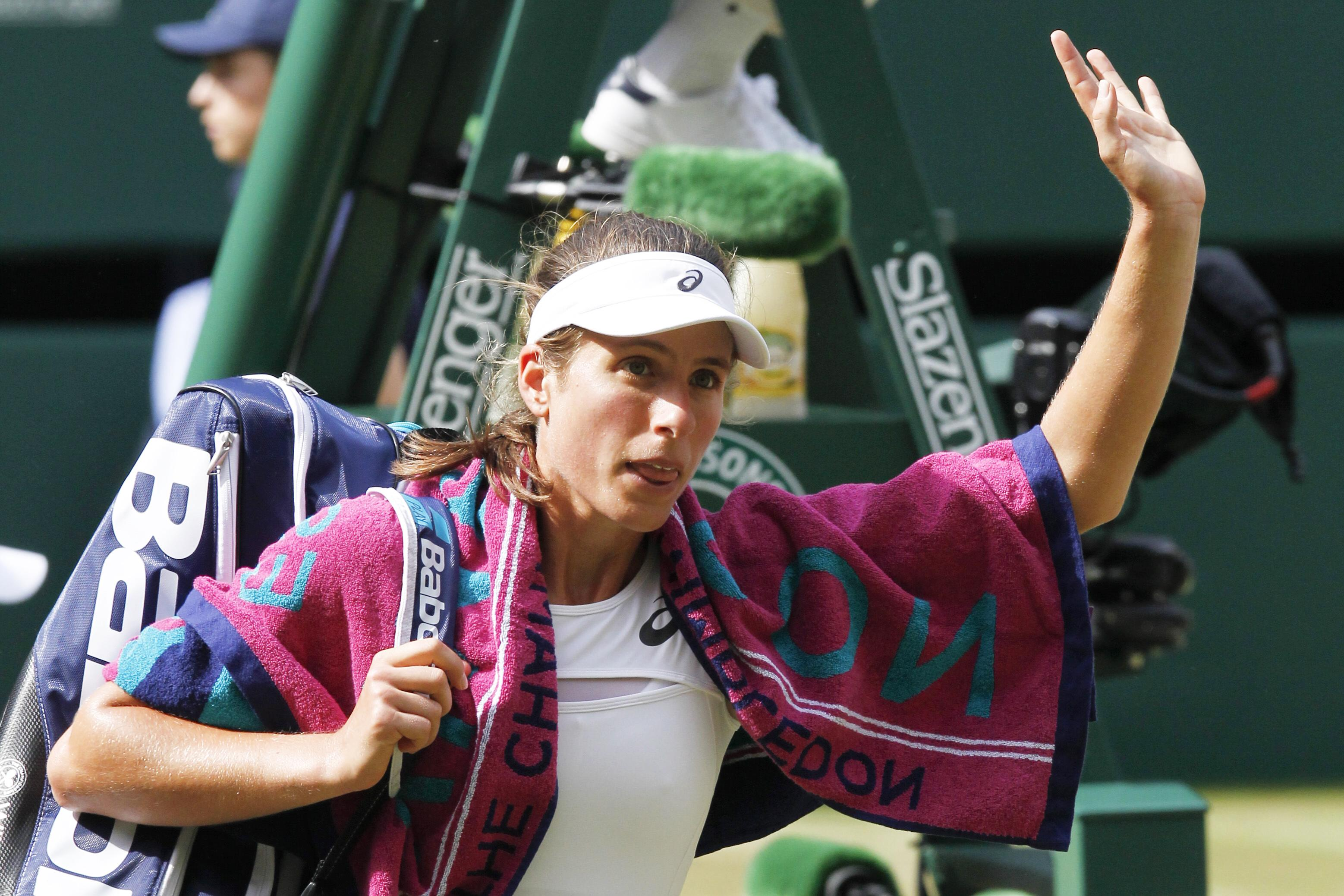 Konta made it to the Wimbledon semi-finals last year before finally being knocked-out by Venus Williams