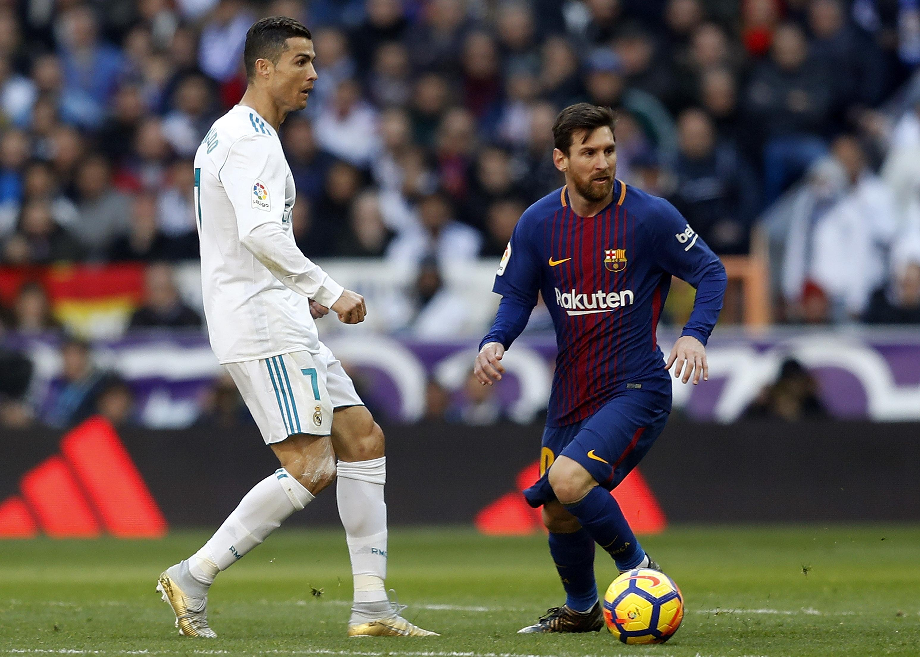 lionel messi rejects cristiano