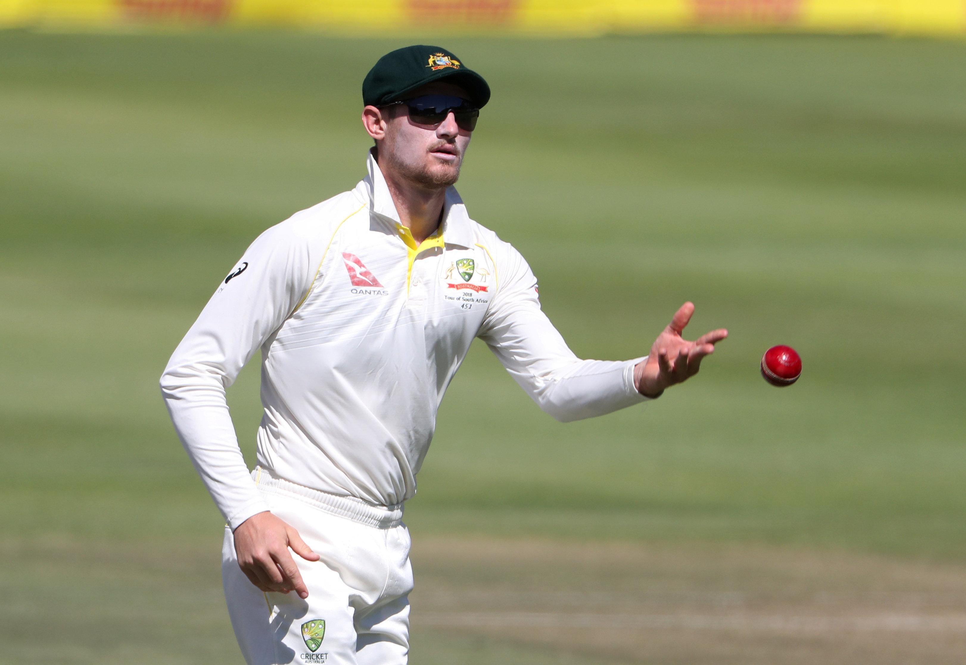 Cameron was spotted sandpapering a ball during a Test match in South Africa in March