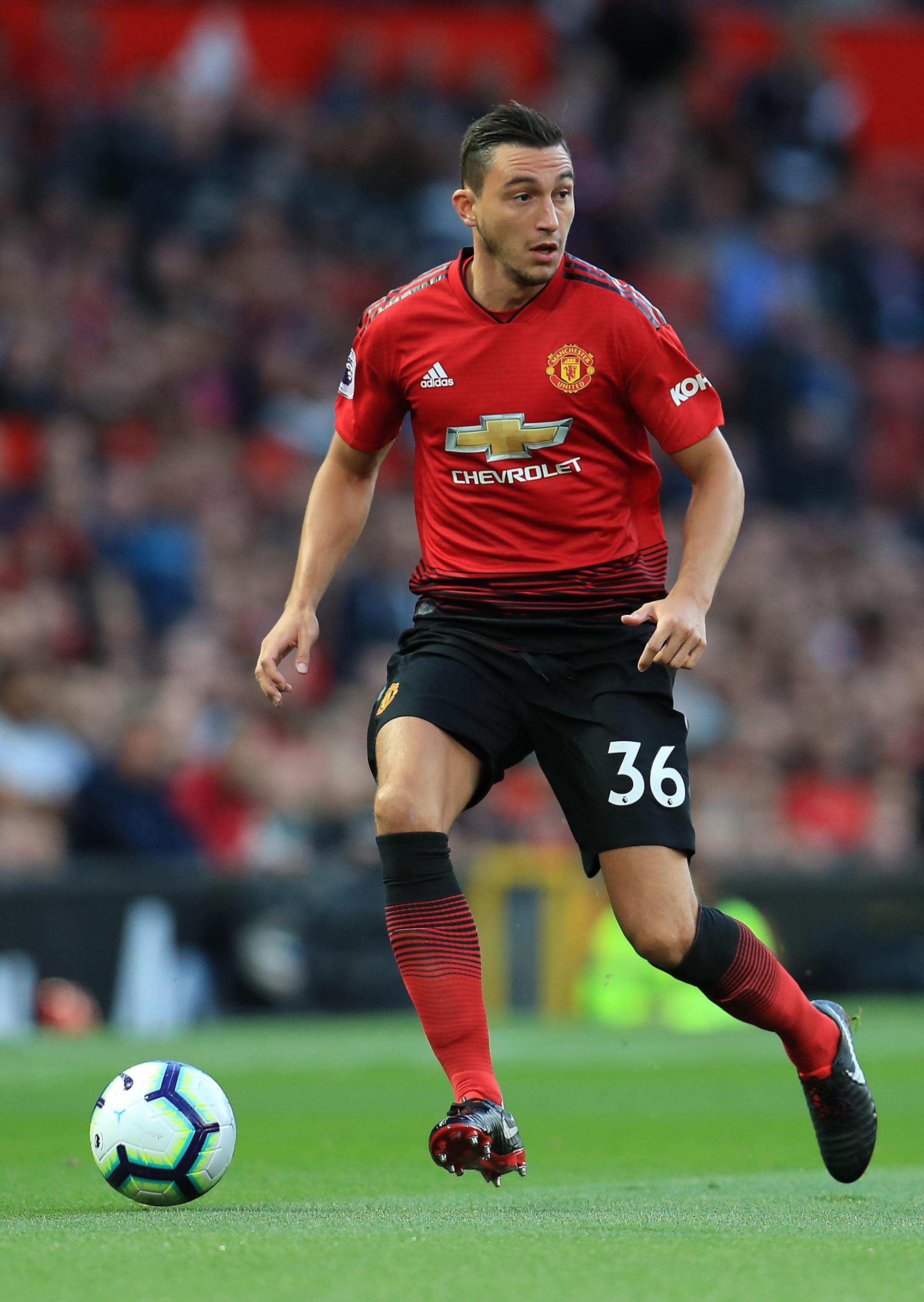 Claudio Ranieri is hoping to bring Darmian to Fulham in a bid to boost their defensive record- which at the moment is the worst in the Premier League