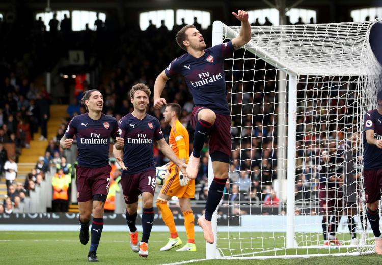 Arsenal also left it late to get past Fulham earlier in the season