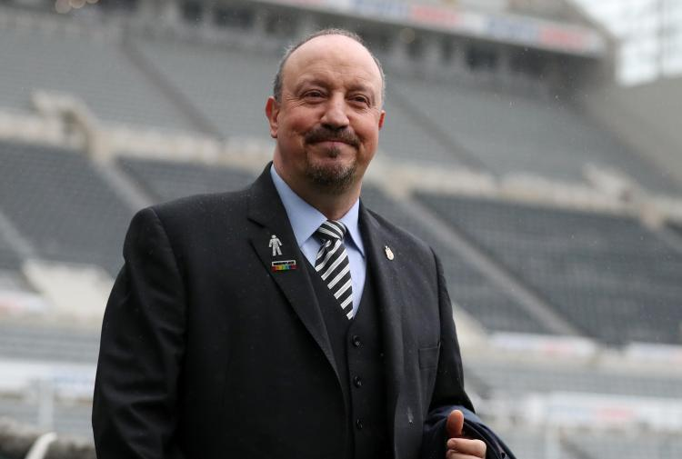 Rafa Benitez has given his pitch in a bid to see buyers knock on the door