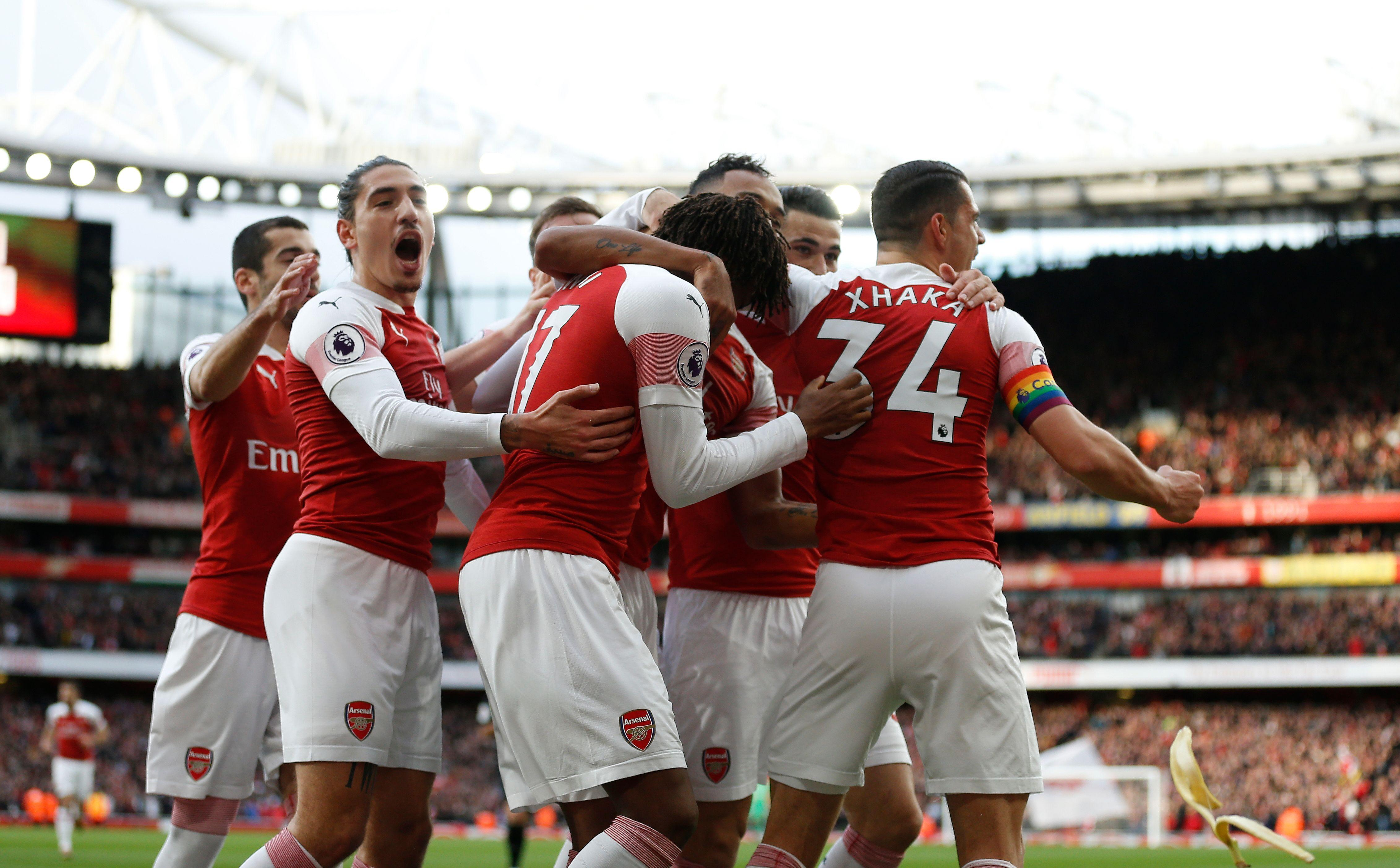 Arsenal have not lost in 12 games