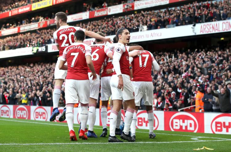 Arsenal left it until the second-half to make a comeback against Spurs