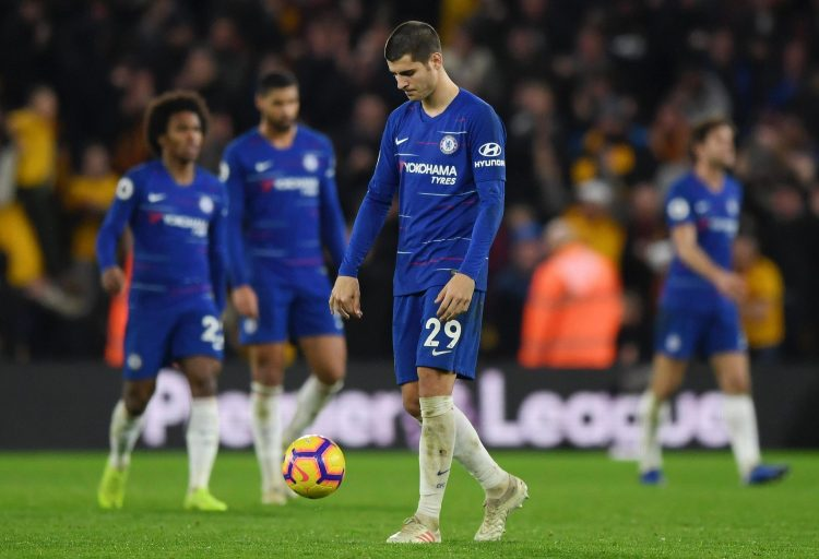 The likes of Alvaro Morata had a game to forget