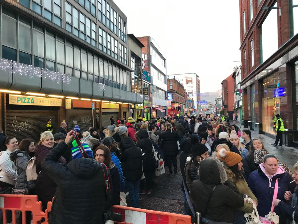 Footfall in the city centre fell by up to 60% in the area following the fire - so locals are delighted to have the Primark