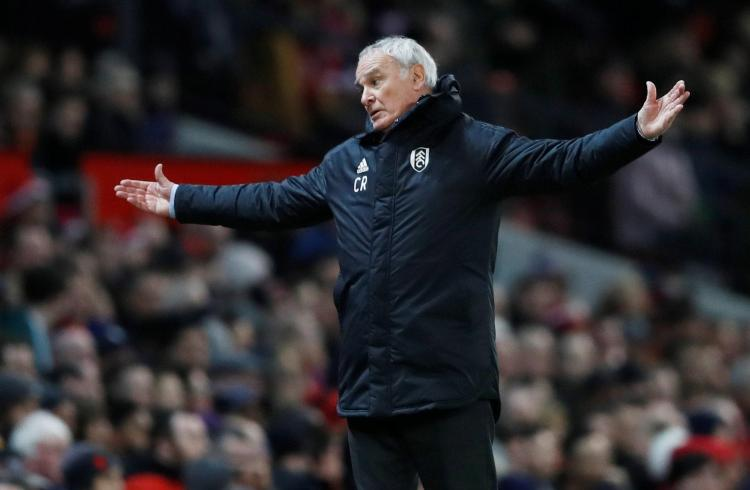 Claudio Ranieri is still looking for his first win at Fulham
