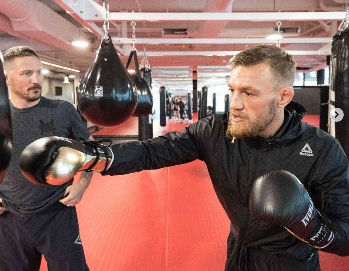 McGregor is currently suspended by NSAC