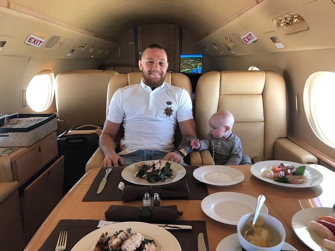 Outside of the octagon, Conor McGregor seems to enjoy the fruits of his labour and then some