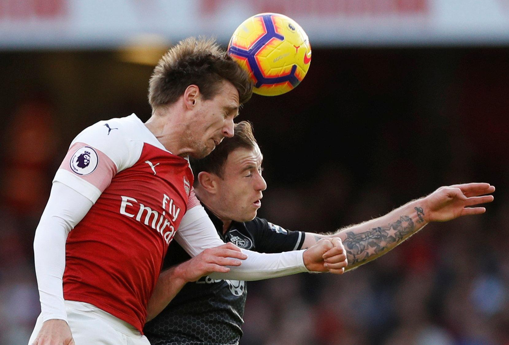 The knock to Nacho Monreal only furthers Arsenal's injury crisis