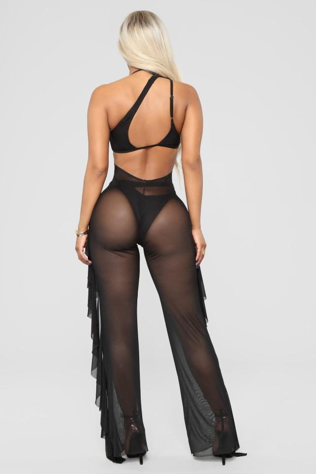 cd92086199 The trousers leave little to the imagination Fashion Nova. Sunshine See  Through ...
