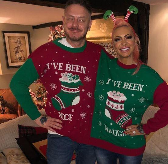 Jodie Marsh and her mystery beau grinned in the photo