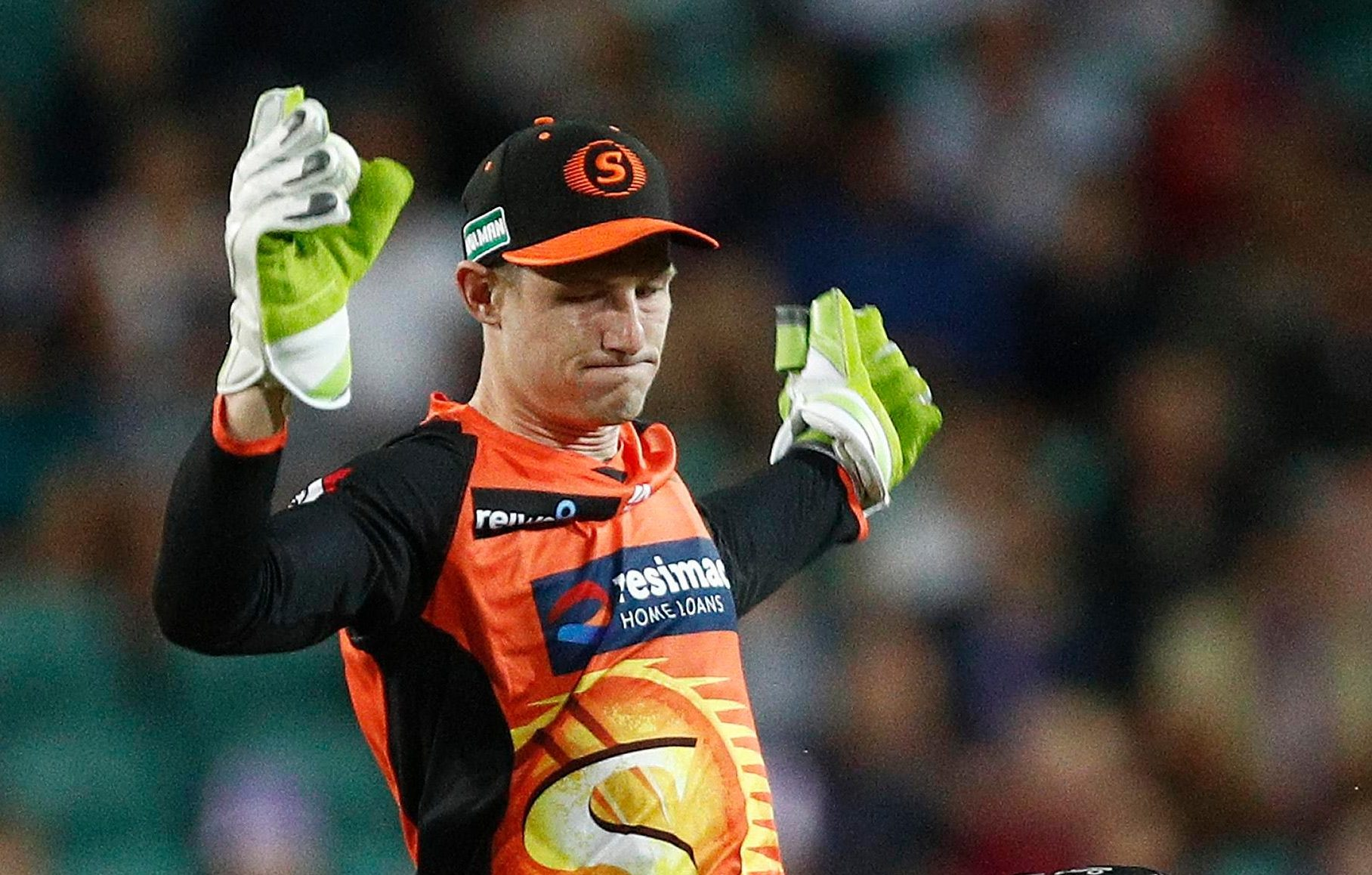 Cameron Bancroft returned from his ball-tampering ban to play for Perth Scorchers today
