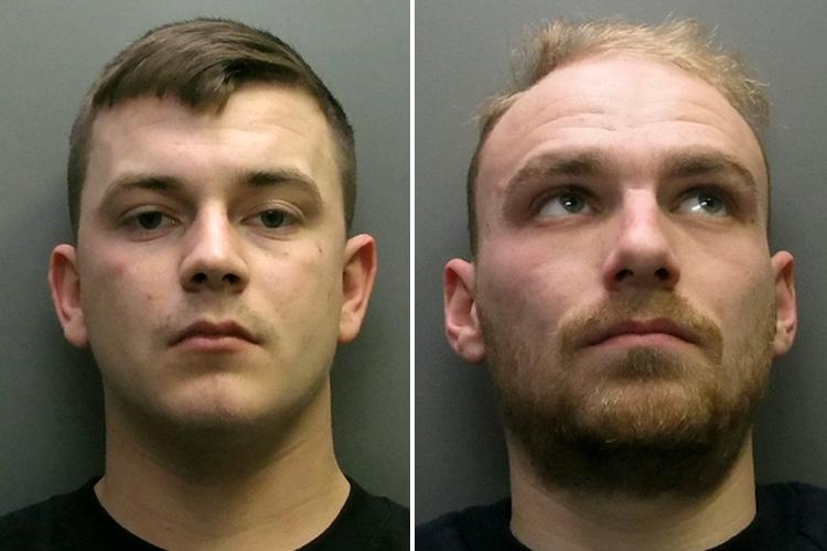 Charlie Albert Webb,left was jailed for five years and John Stanley Loveridge, right, was jailed for six-and-a-half years.