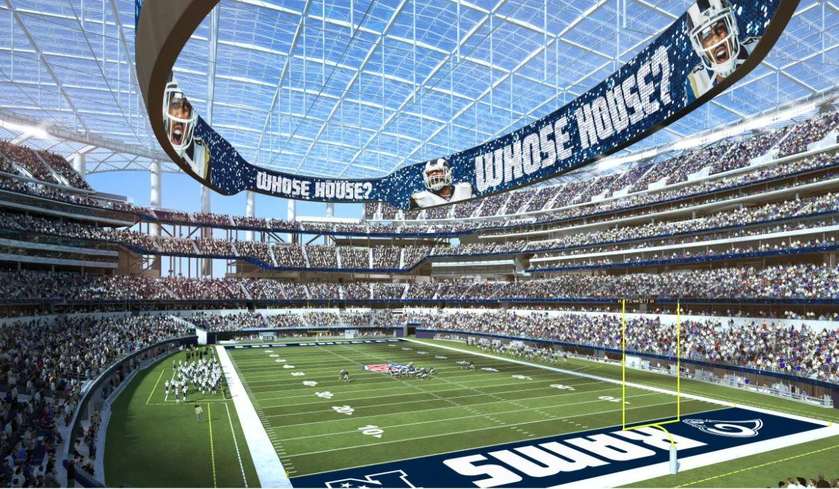 Stan Kroenke is building a spectacular new stadium for the Rams in Inglewood