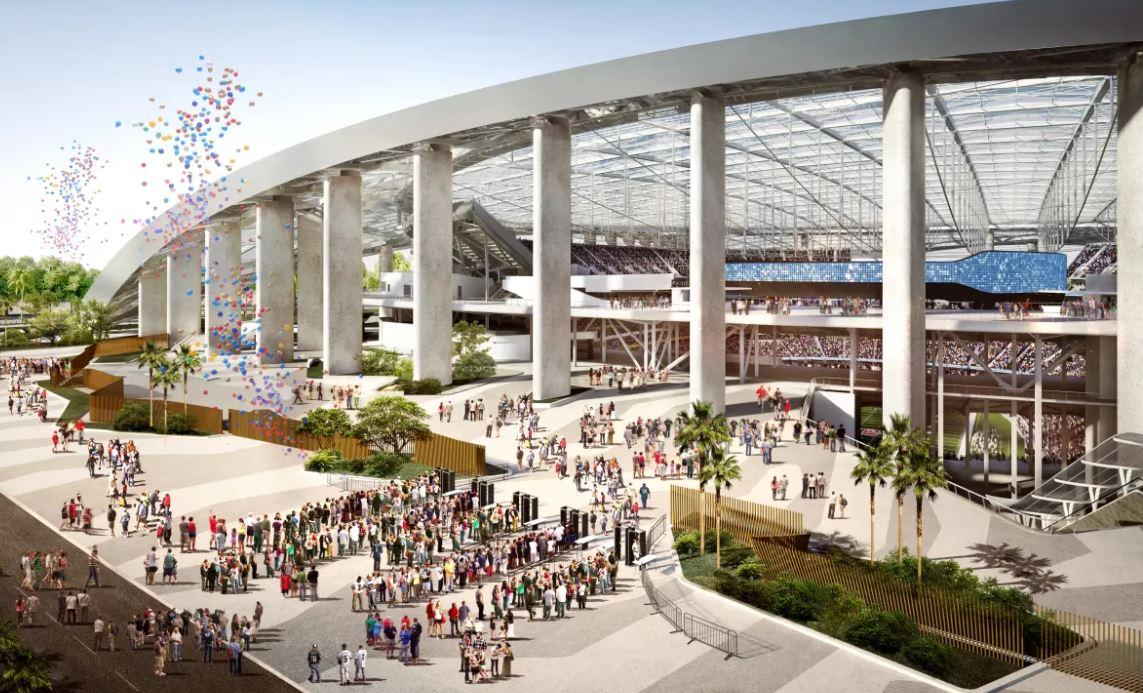 Los Angeles will have one of the league's best stadiums when it opens next year and host a Super Bowl in 2022