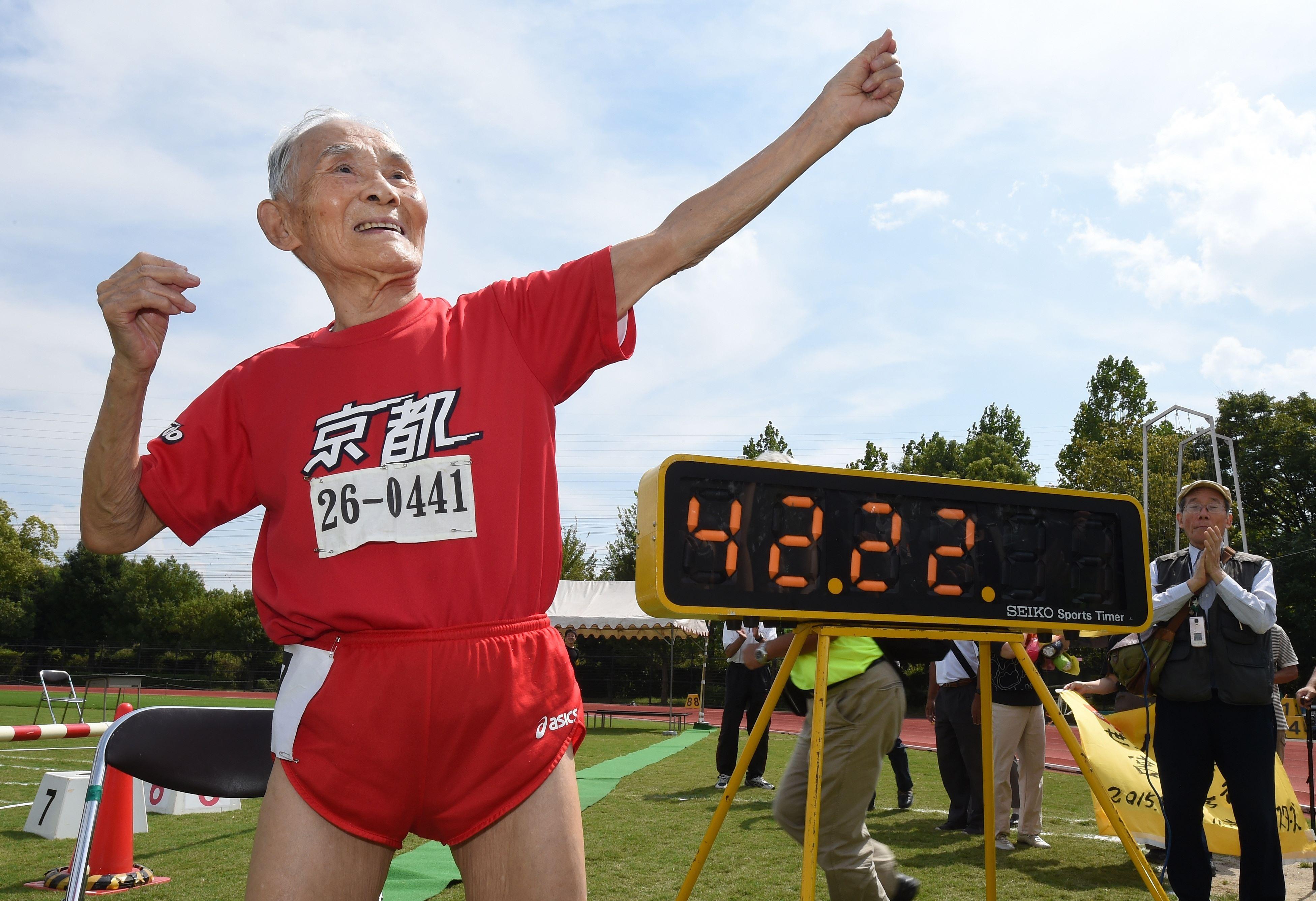 Hidekichi Miyazaki has died aged 108
