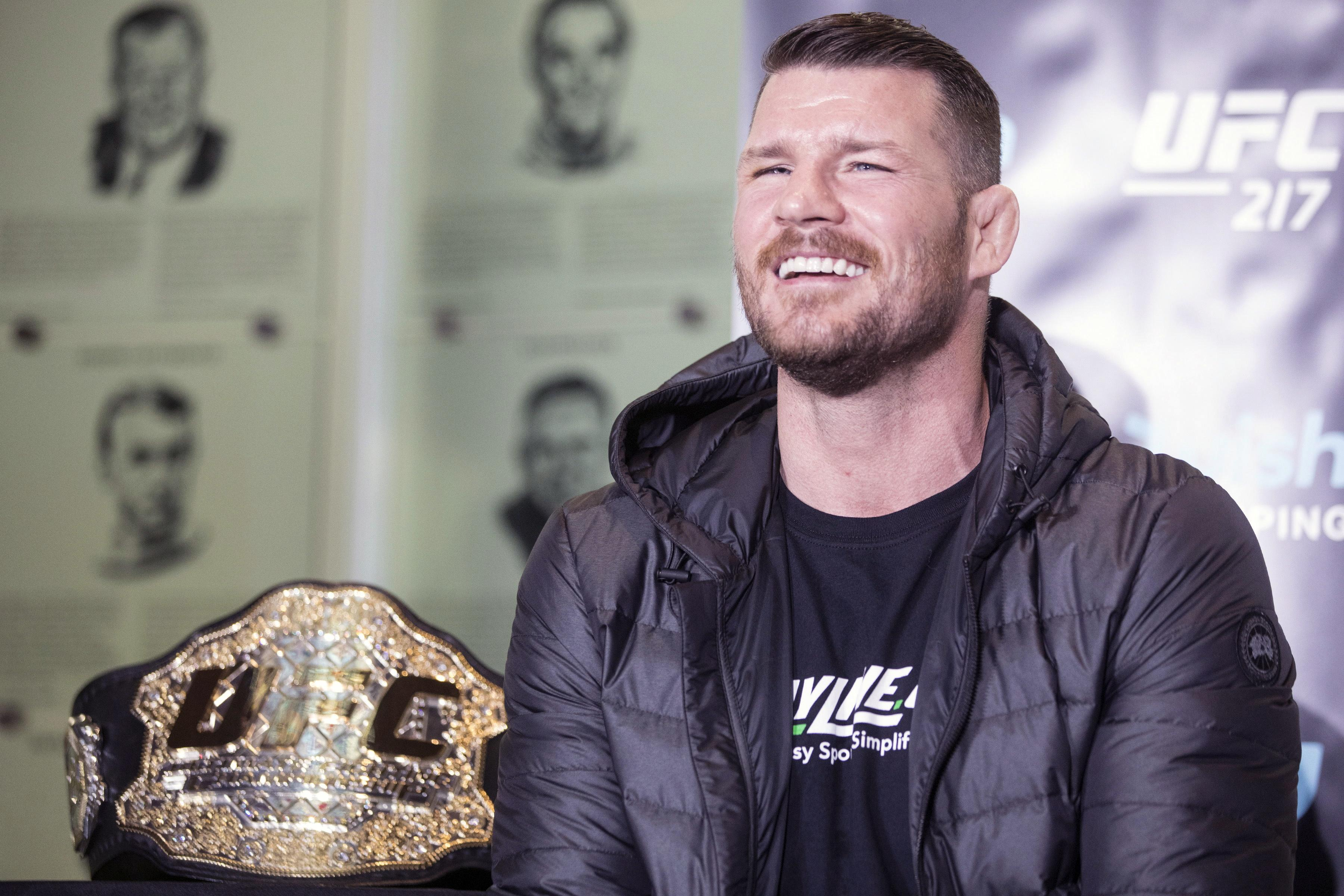 Bisping is a long time advocate for clean sports