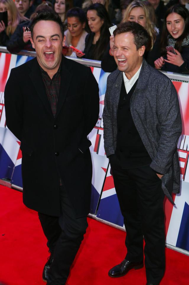 Ant McPartlin will return to work on Britain's Got Talent on Friday