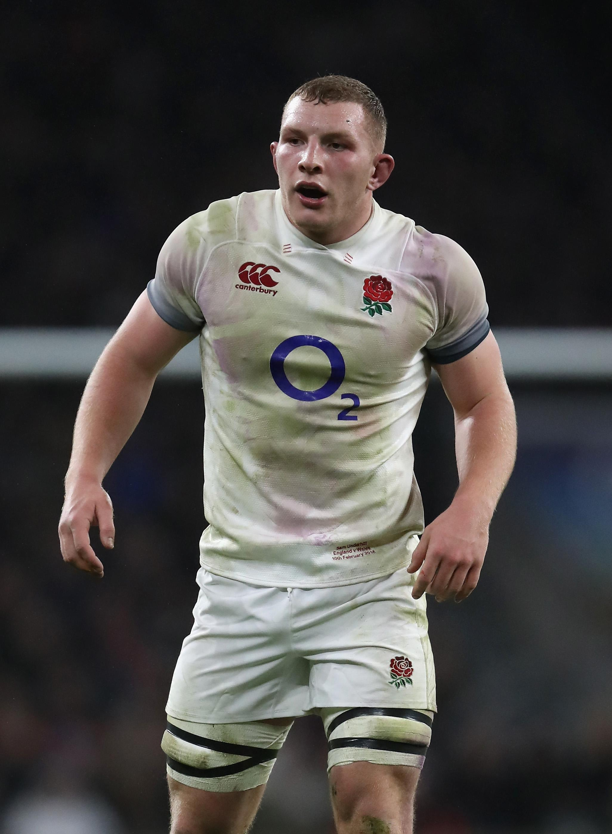 Underhill was superb for England in the Autumn internationals and put his best foot forward for a World Cup place