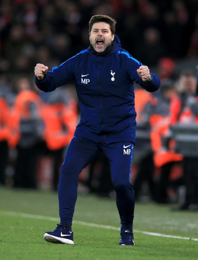 Tottenham take on Manchester United at Wembley tomorrow afternoon with Poch wanted by the Red Devils