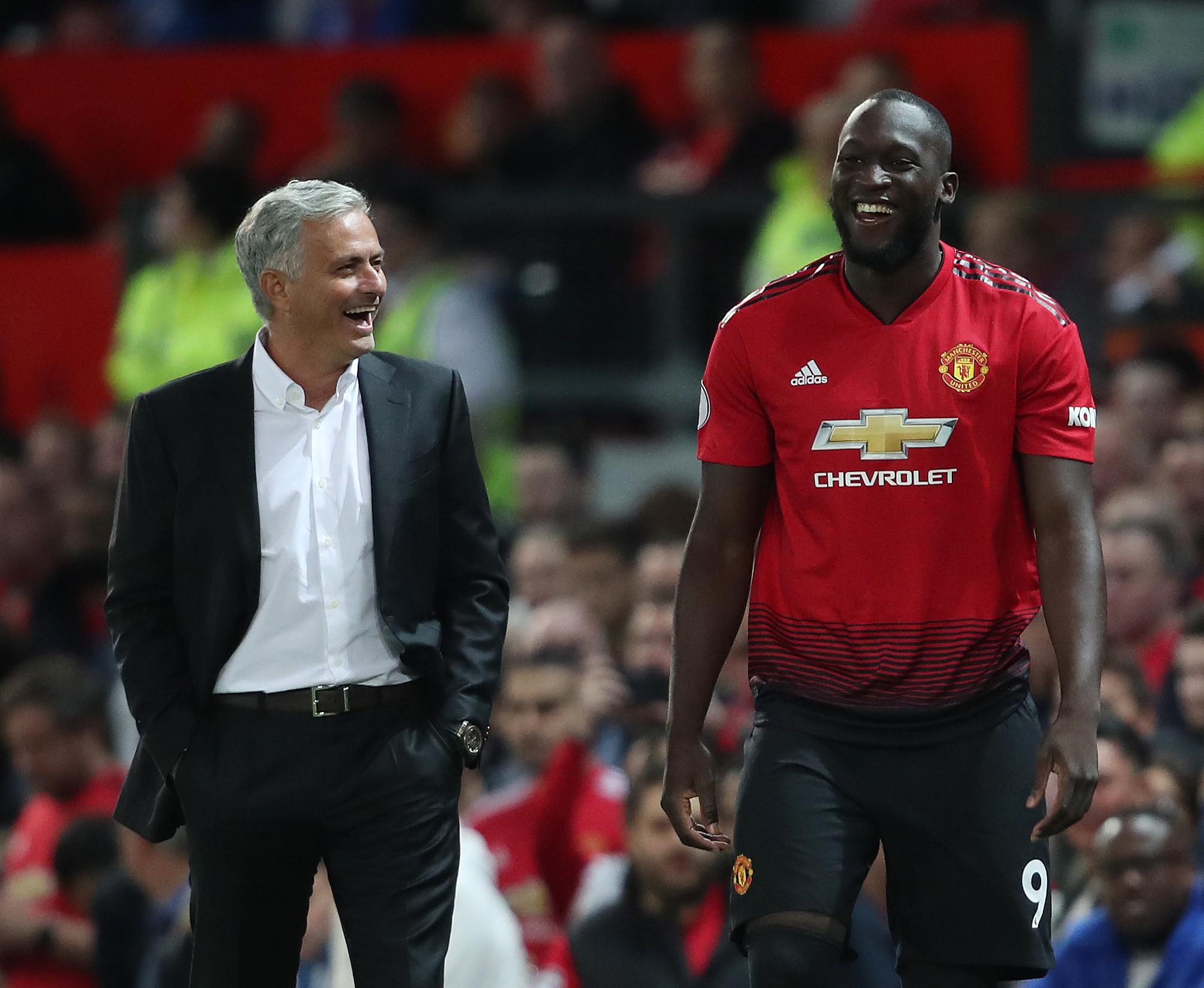 Romelu Lukaku won't have a bad word said about Jose Mourinho
