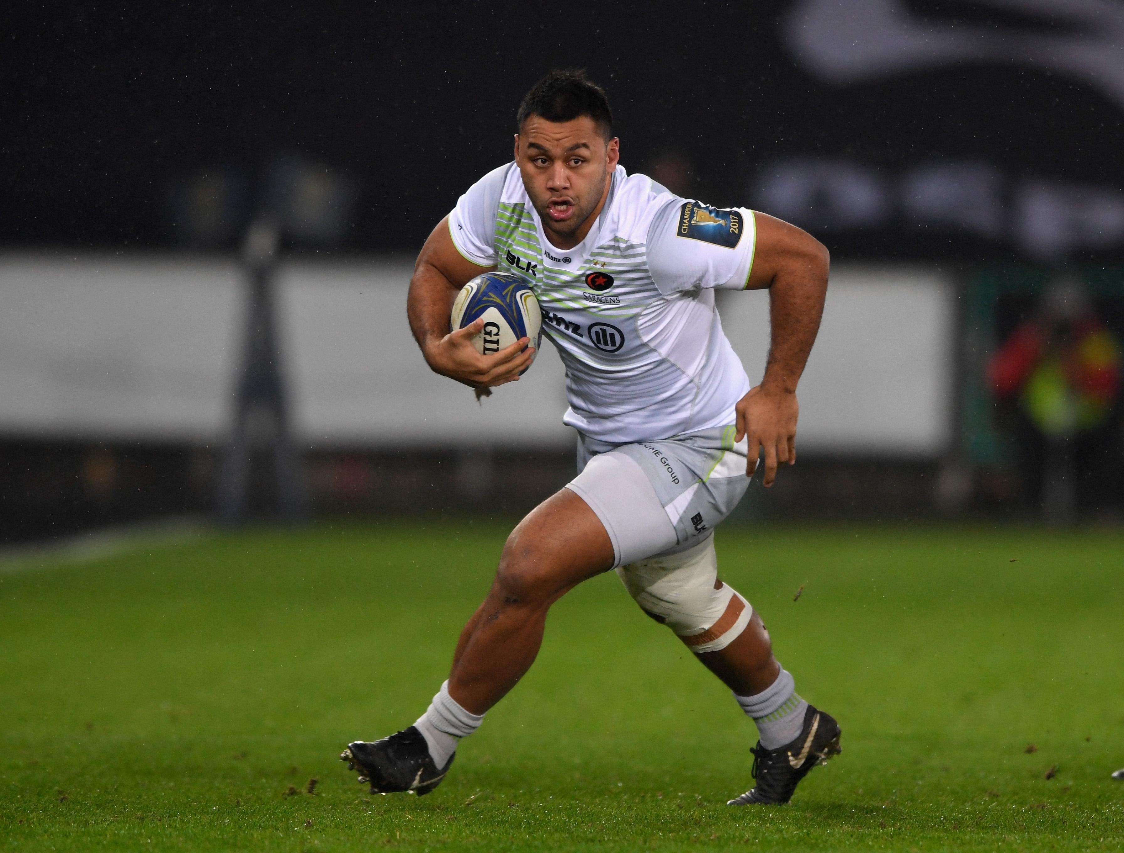 Billy Vunipola wants to do his partying on the field this time around