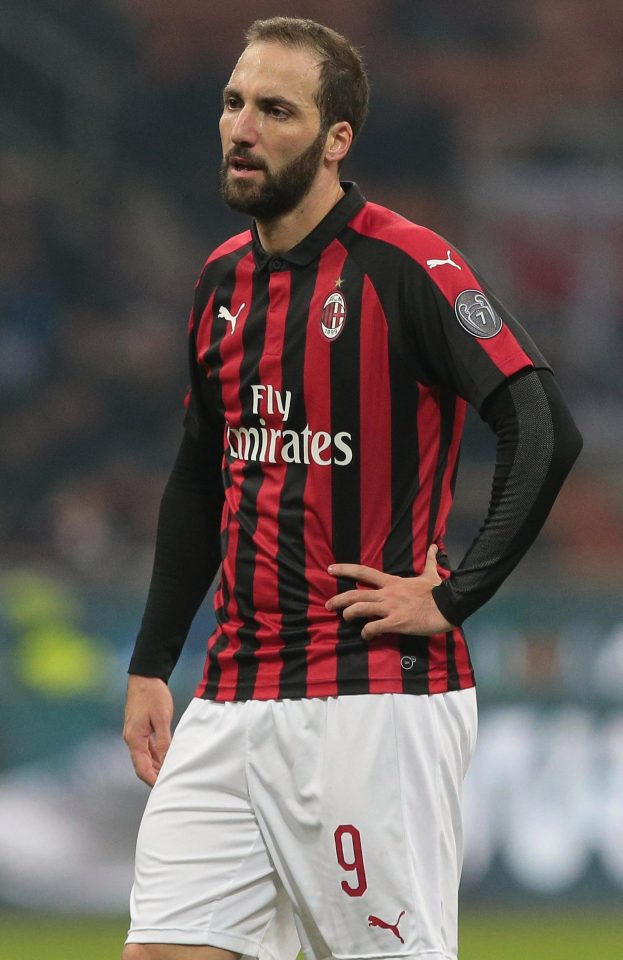 Chelsea are in talks to sign Gonzalo Higuain on loan until the end of the season