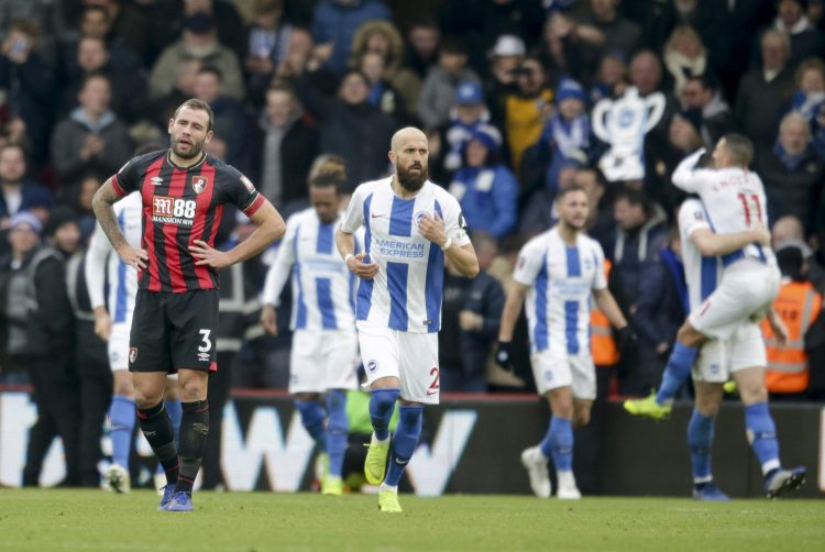 Bournemouth boss Eddie Howe made nine changes for the Brighton clash and was duly punished by the Seagulls