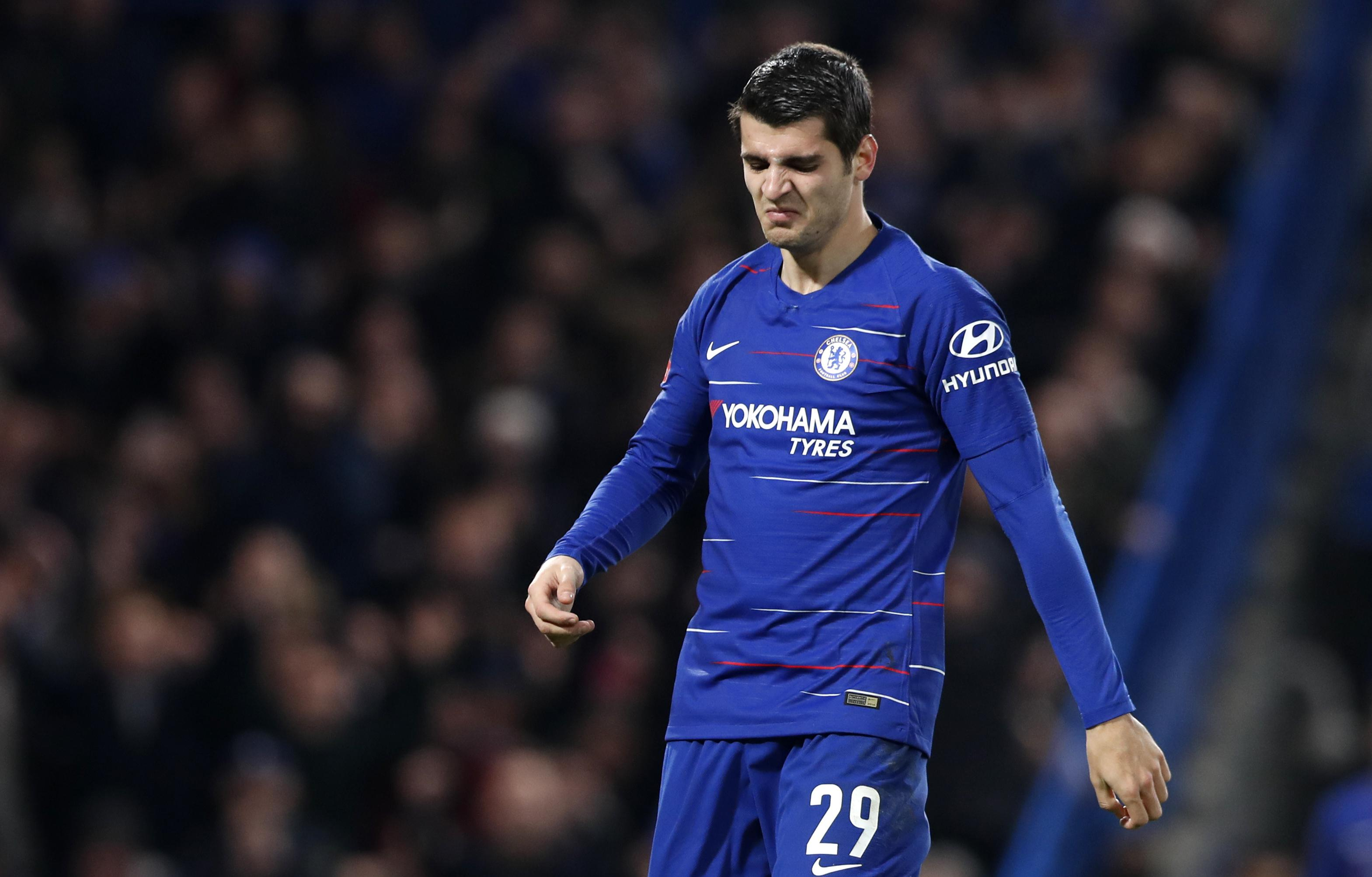 Chelsea striker Alvaro Morata has struggled for form since joining from Atletico Madrid