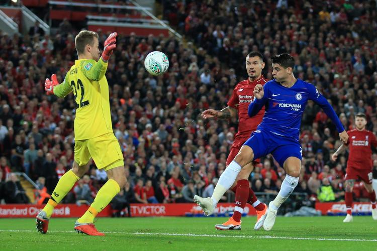 Alvaro Morata has proved to be a disappointment leading the line for Chelsea