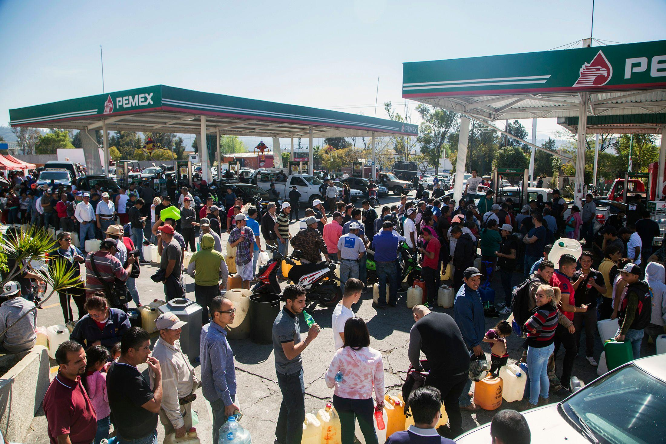 The fuel shortage in Mexico has sparked uproar in certain states